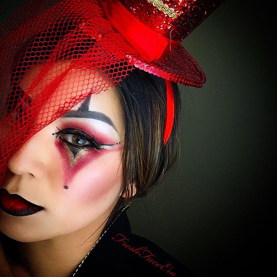 Ringmaster Lion Tamer Circus Makeup Idea For Halloween IG: FreshFaceEra Lion  Tamer Costume, Ringmaster