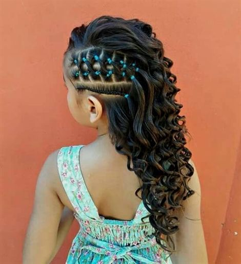 Photo of Here are 20 hairstyles you can give your little braids …