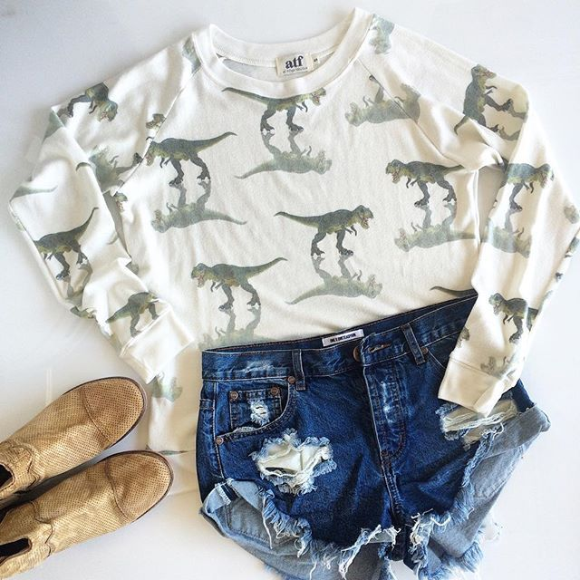 Dino Days // #ootd #allthingsfabulous #atf #oneteaspoon #freepeople #fpme