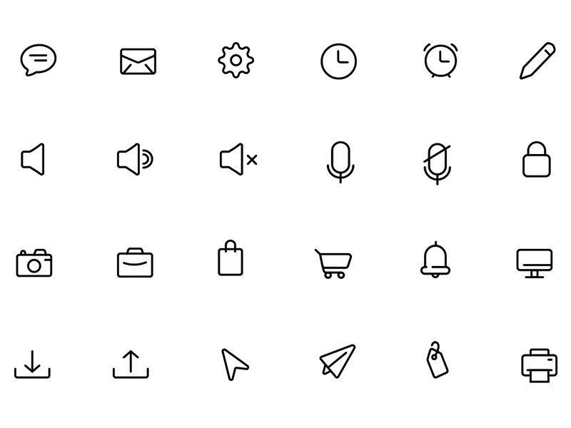 Жизненно важные иконки в векторе  Скачиваем из группы VK в описании