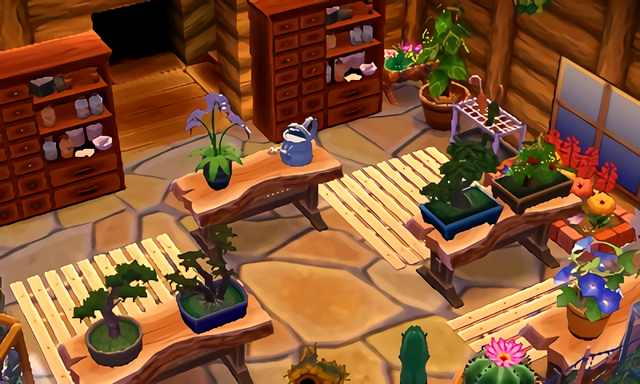 """Acnl-lilypad: """" Some Images Of Rose's Finished Greenhouse"""