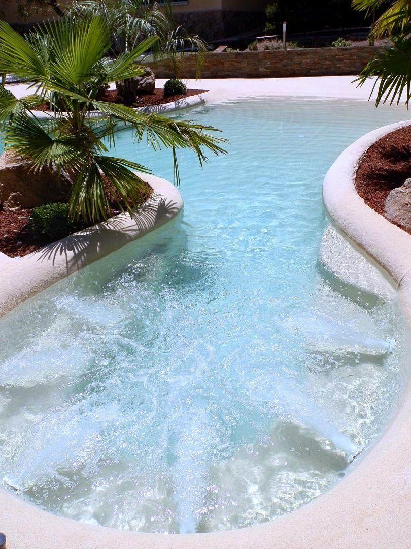 Piscinas de arena piscinas de arena pinterest for Piscinas de arena compactada