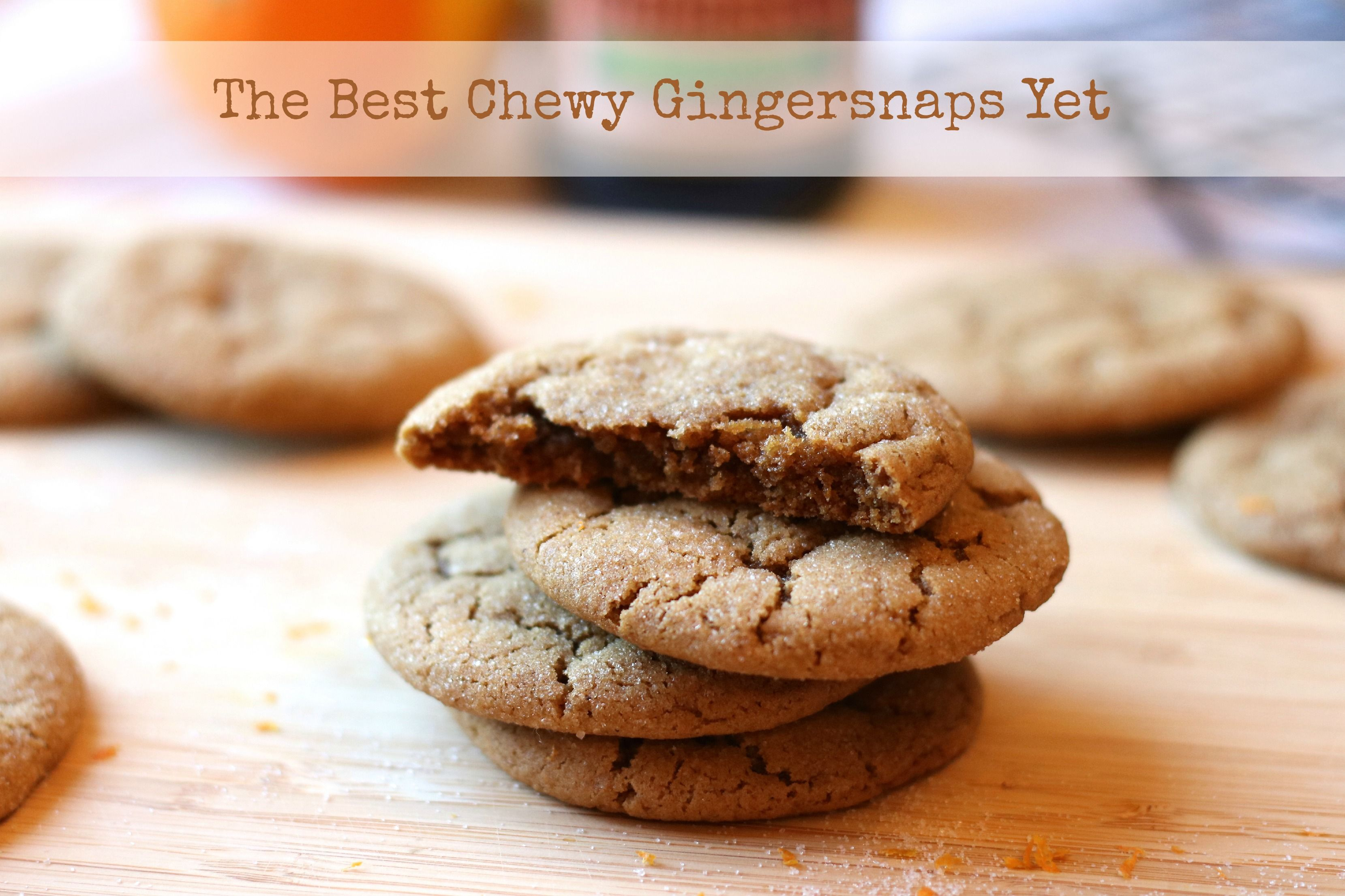 The Best Chewy Gingersnaps Yet! Chewy & Delicious for your holiday cookie baking. | rdinthemidwest.com