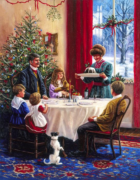 традиции рождественских открыток смерти артиста