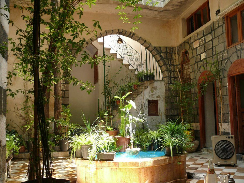Old house damascus syria with love pinterest for The damascus house
