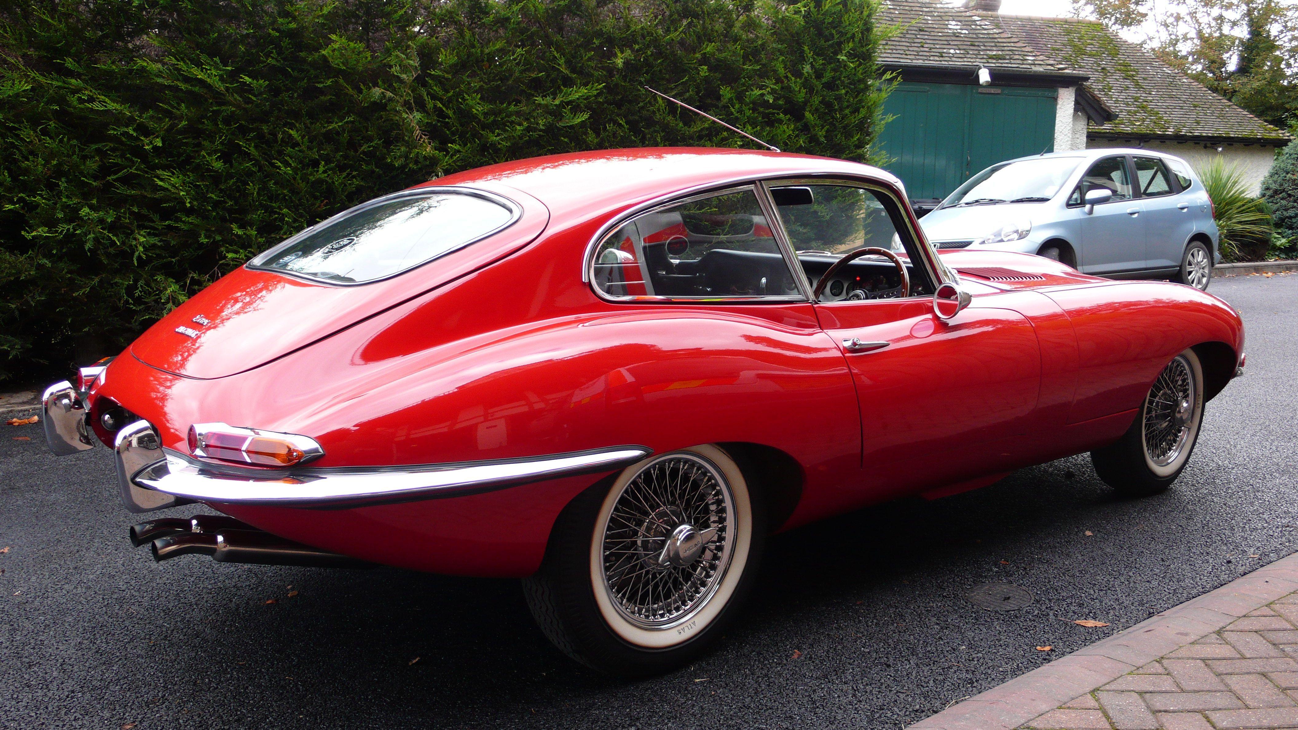 Jaguar E Type coupe | Jaguar classic cars | Pinterest | Cars, Aston ...