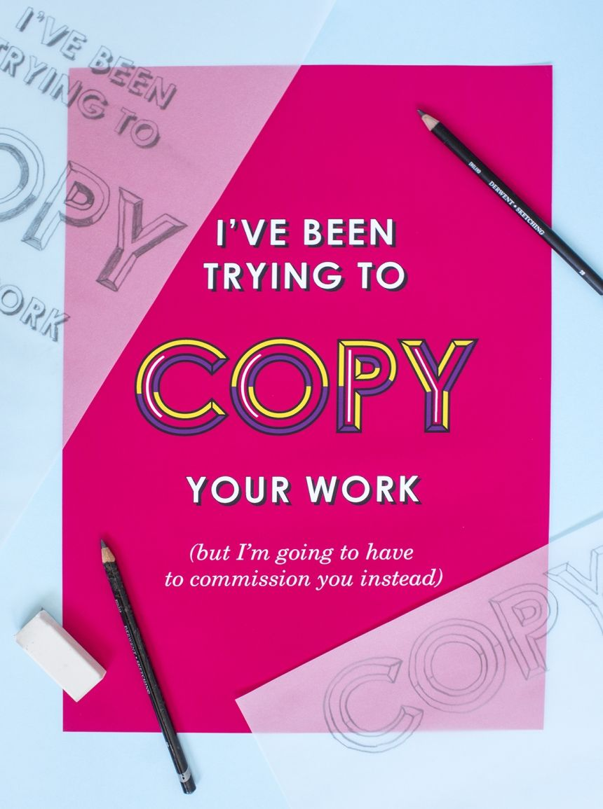 12 creative put-downs turned into cheeky typographic art by Lisa Maltby | It can be challenging to stay sane and push your skills forward as a freelance creative, particularly when it's a field under so much scrutiny. And when we receive certain feedback from clients, it's hard...