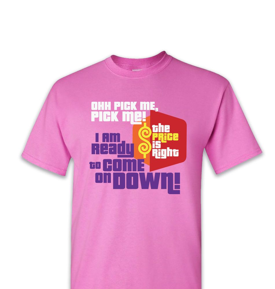 The Price Is Right T shirt All Over Print Game Show Contestant Tshirt T-shirt