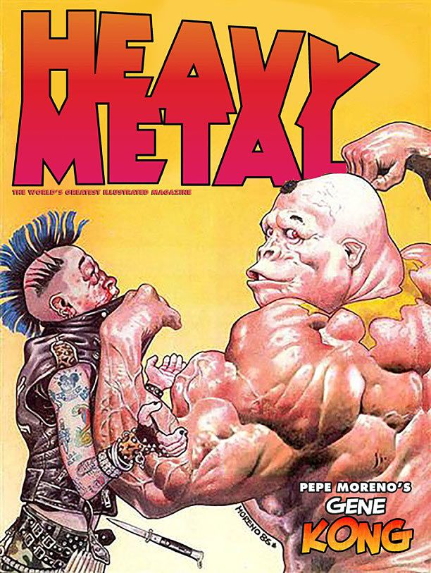 Heavy Metal #278 Heavy Metal Released: 12/30/15