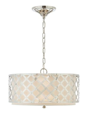 Lauren ralph lauren lighting brooksend polished nickel pendant ceiling lighting for the home macys