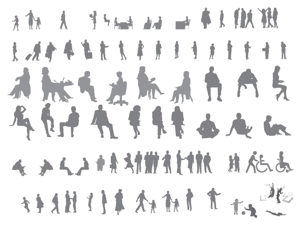 Huge Collection Of Free Vector Human Shapes From Vecteezy Human Vector Vector Free Vector Shapes