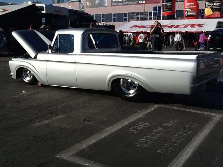 one cool ride!  Ford pick-up Sema 2013