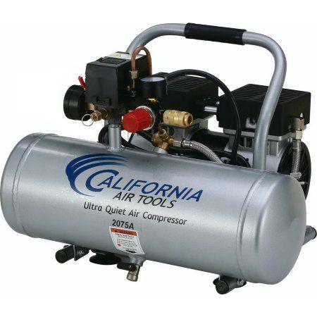 California Air Tools 2075a Ultra Quiet Oil Free 3 4 Hp 2 0 Gal Aluminum Tank Air Compressor Walmart Com Best Portable Air Compressor Air Tools Portable Air Compressor