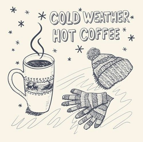 Winter Cold Weather Hot Coffee Winter Coffee Coffee Vector Cold Weather Funny