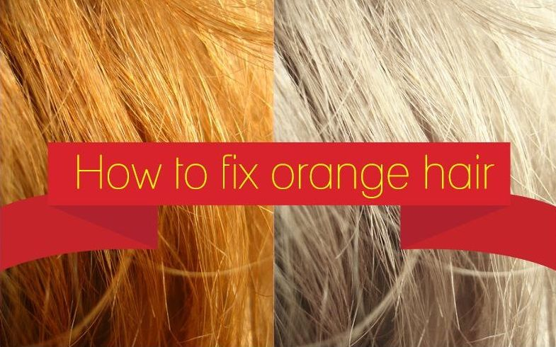 Discover How To Correct Orange Hair To Your Desired Shade Of Blonde