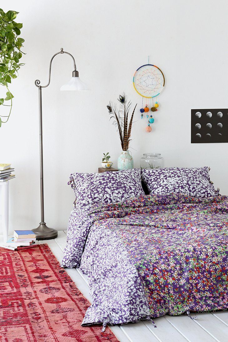 Urban Outfitters Bettwäsche Plum Bow Daydreamer Duvet Cover Bedroom Upgrades