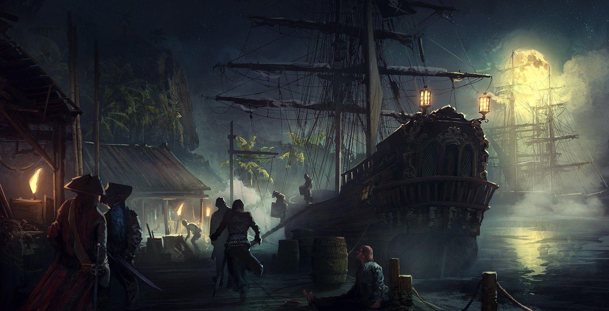 Для группы, картинки портов фэнтези