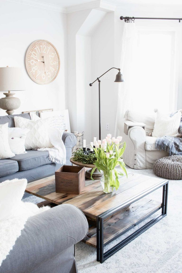 28++ Grey farmhouse couch inspiration