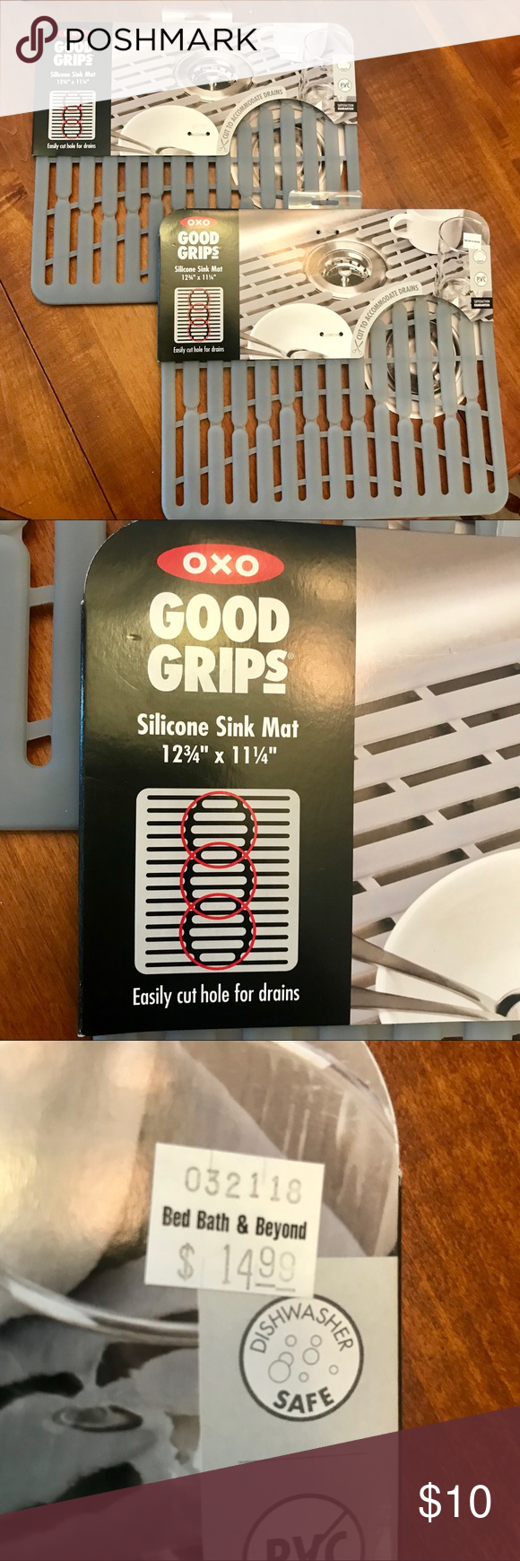 Good Grips Silicone Sink Mats 2 Brand New 15 Each At Bed Bath
