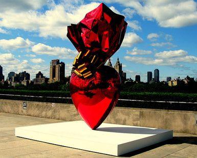 Nueva York en febrero: Jeff Koons, Metropolitan Museum of Art