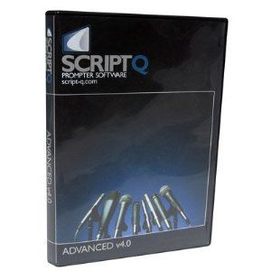 Script-Q Advanced. Script-Q is the premier teleprompter program for the most demanding professional teleprompting uses. It has many studio teleprompter uses, such as radio, television, and multimedia production; business/government presentations; student audio-visual classes, video-blogging, and videoconferencing. Podcasters are already serving up Web-delivered audio and video content with custom narration supported by Script-Q, and even church choirs have found great success utilizing the…