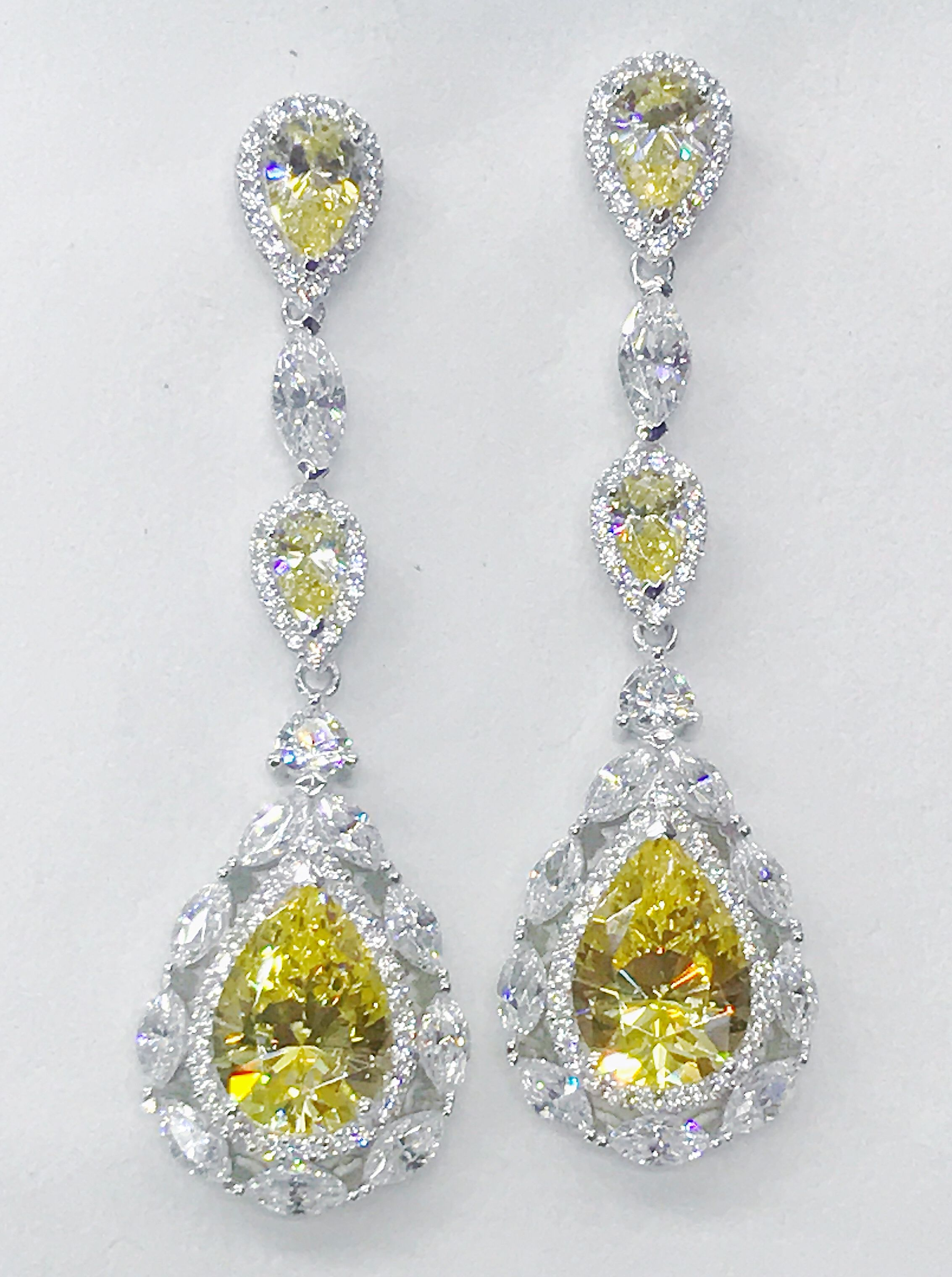 z for mj yellow drop sale jewelry id earrings j diamond canary carat at