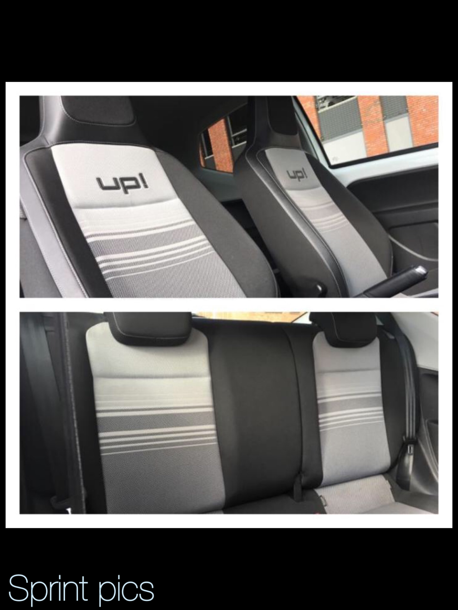 vw up interieur white edition high up
