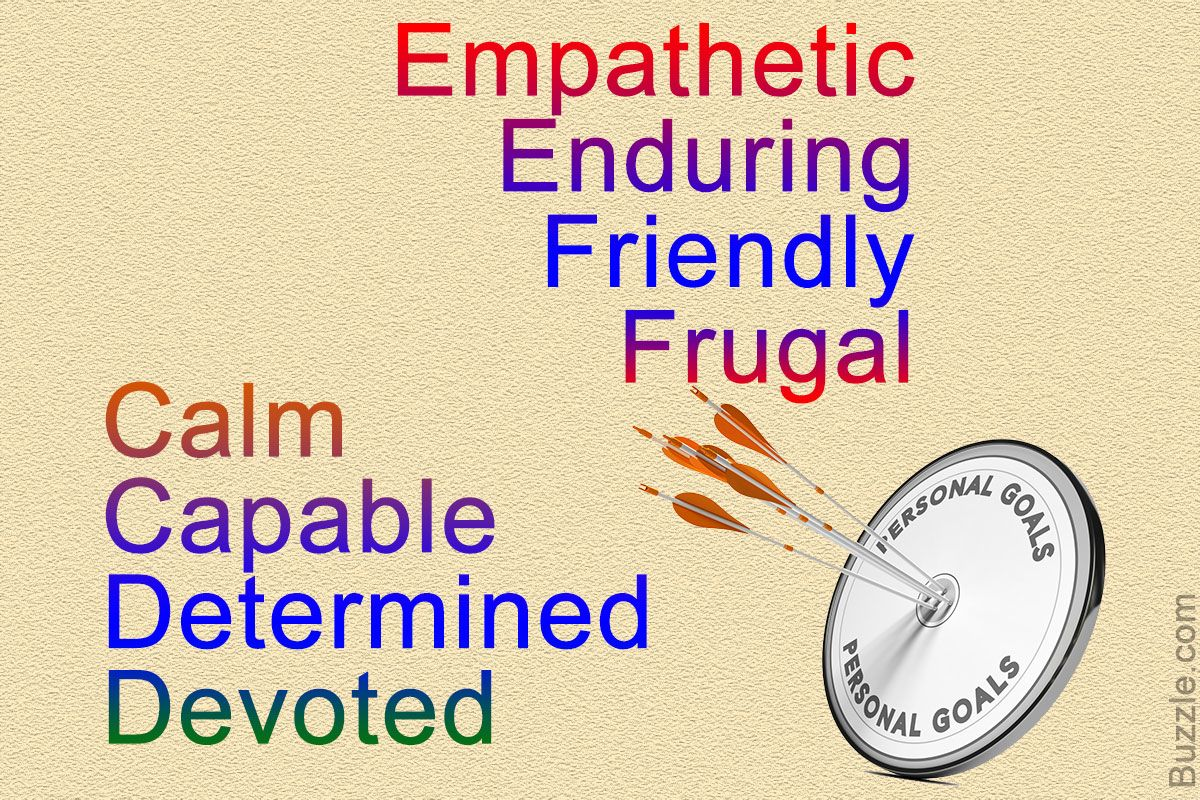 Unbiased List Of Human Qualities With Positive And