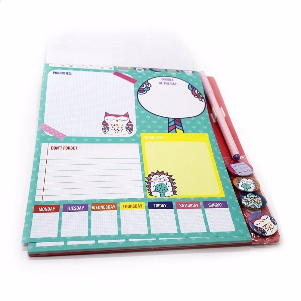 Office & School Supplies Trend Mark 1 Pcs A6 Coil Loose-leaf Notebook Planner Student Stationery Bullet Journal Agenda Sketchbook Journal Rilakkuma Notebook Paper Pure And Mild Flavor