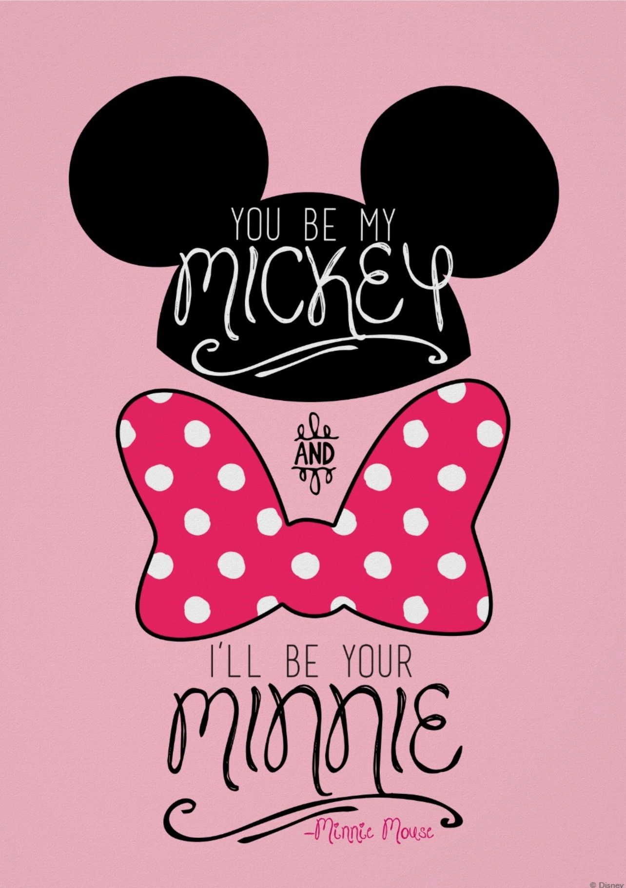 Love ️ it Papel de pared disney, Minnie mouse fondos de