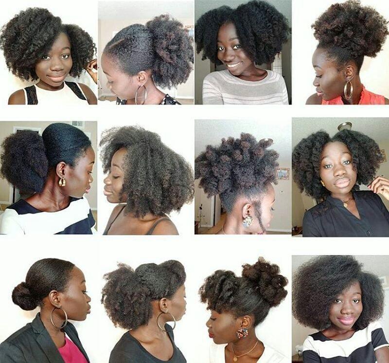 Epingle Sur Idee De Coiffure Femmes Afros Cheveux Naturels