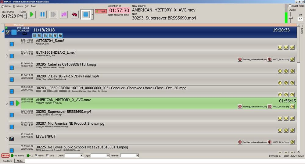 Automated Playout w BlackMagic Decklink make playlists insert files