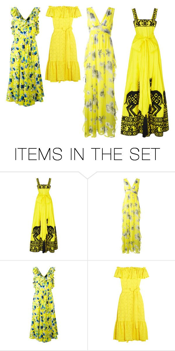 """""""Spring Color in the Northern Hemisphere"""" by stylev ❤ liked on Polyvore featuring art"""