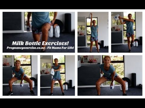 Milk Bottle Workout - Exercises Fit Mums Can Do At Home
