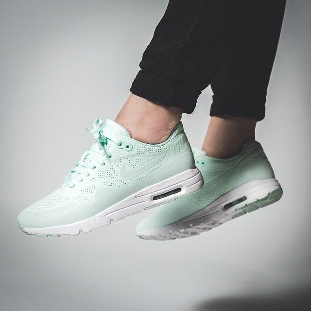 nike air max 1 mint groen