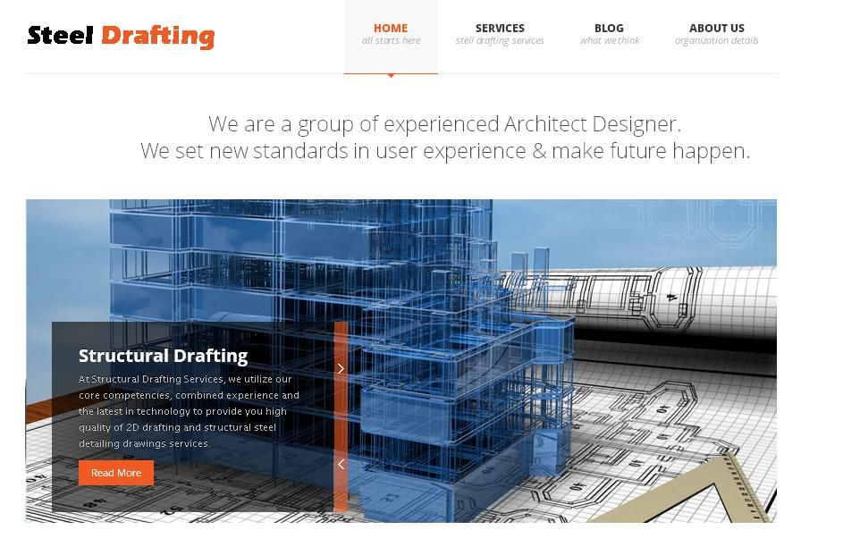 2d Drafting And Detailing : Steel detailing services fabrication drawings erection drawings