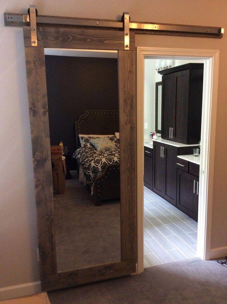 35 How To Build A DIY Sliding Barn Door Loft Bed Full Size ...