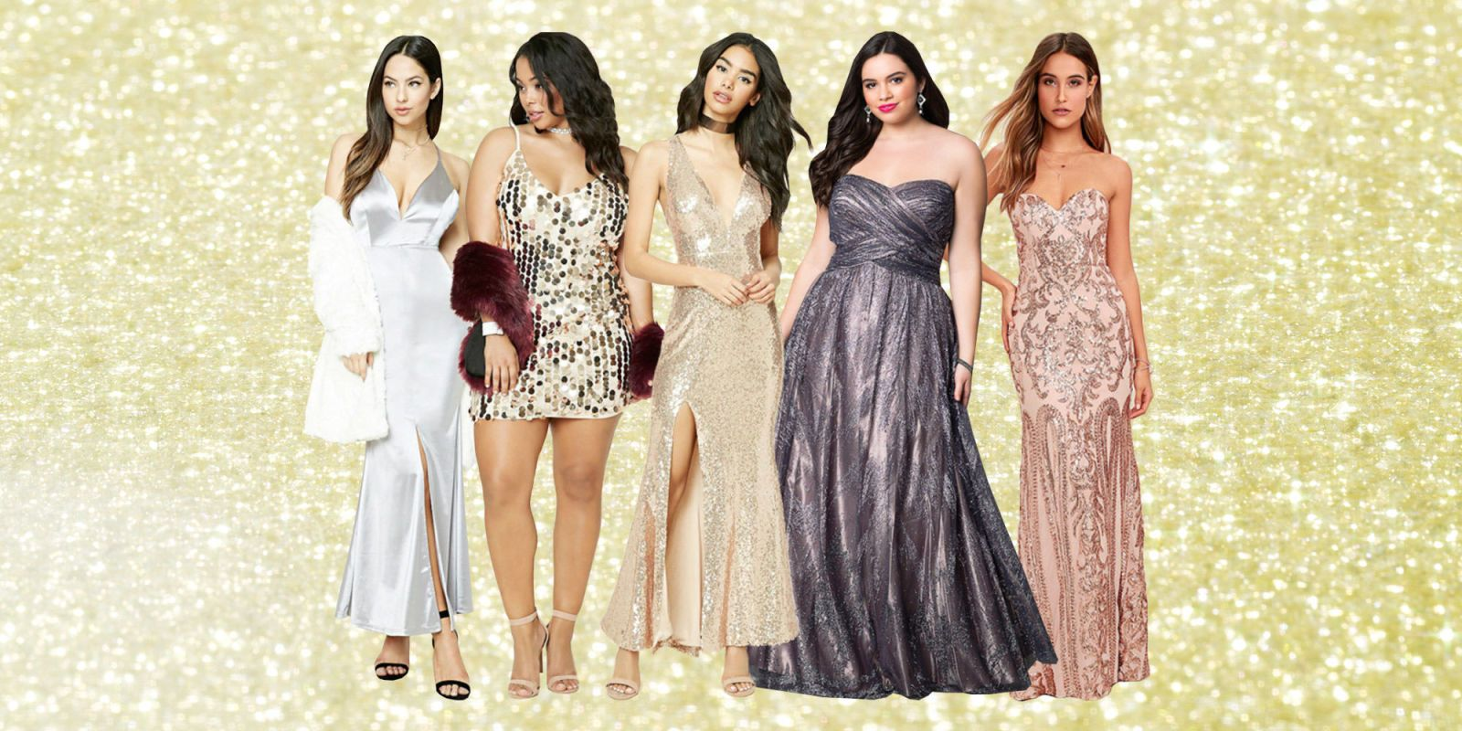 showstopping gold and silver prom dresses you need asap silver