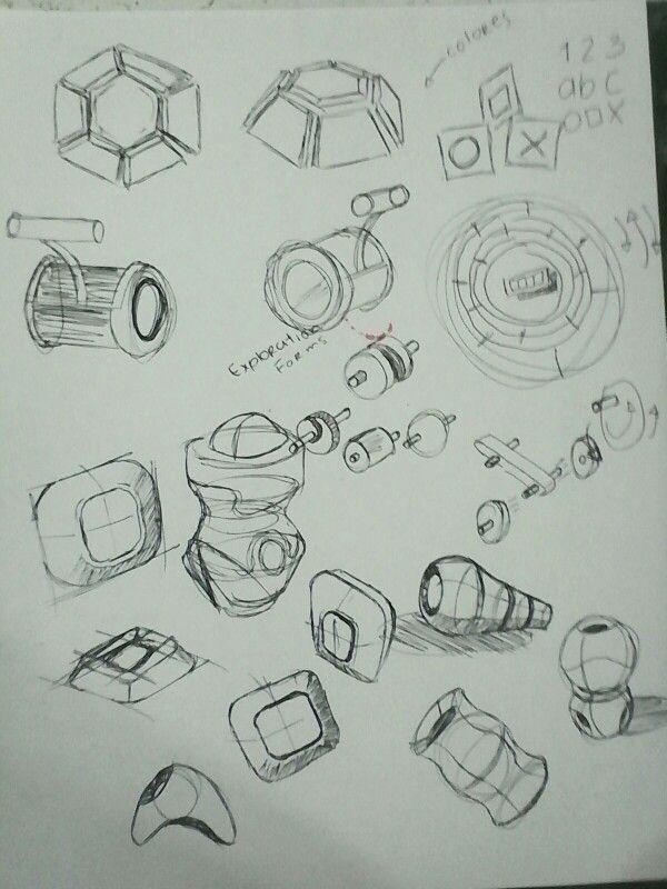 TOY forms explortion, organics, mecanism sketch design #madebyme