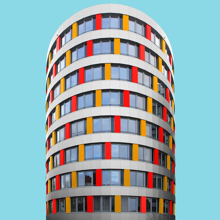 Colorful Architecture Photography By Paul Eis Architecture And