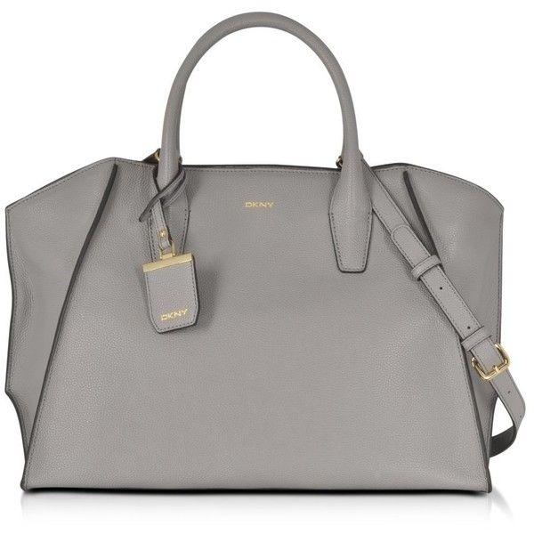 dkny handbags large chelsea grey grained leather satchel 440 rh pinterest com