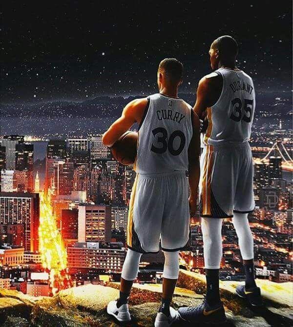 Steph and KD … Stephen curry basketball, Nba basketball