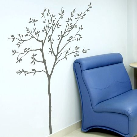 Whether beside the doorway or adorning an accent wall this tree inspired decal fills your home with organic intrigue and eye catching style