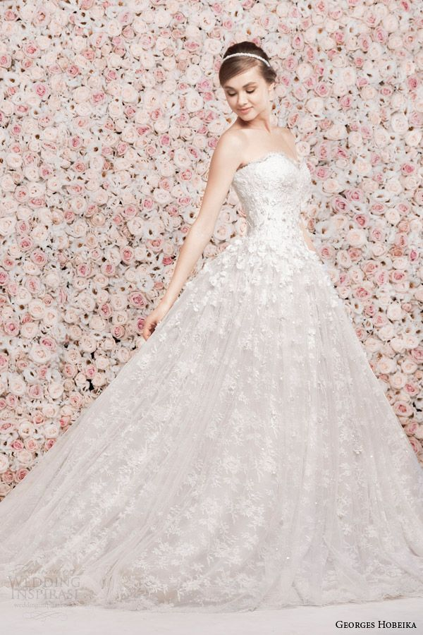 3b609a33eee Georges Hobeika Wedding Dresses Spring 2014 Collection