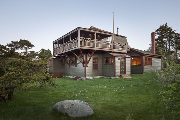 The recently restored Winslow Homer studio on Prout's Neck in Maine will open for public tours through the Portland Museum of Art in September 2012.