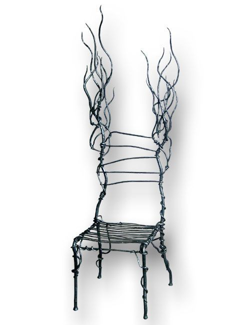 The Chair Lady Punk by End Side Design, a wild and discordant steel ...