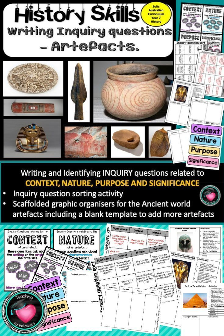 History inquiry or research skills source analysis in