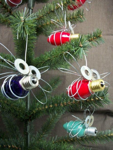 Light-Bulb-Bug-Christmas-Ornament - Light-Bulb-Bug-Christmas-Ornament Totally Tole @ Heart Pinterest