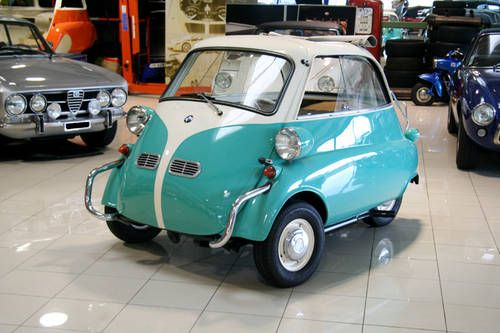 Bmw Isetta 300 Excellent Condition For Sale 1957 Isettas And