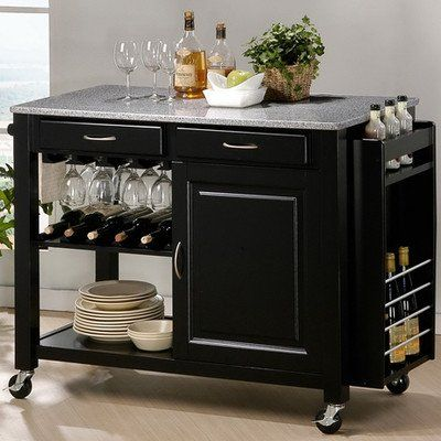 Special Offers - Baxton Studio Phoenix Black Modern Kitchen Island with Granite Top - In stock & Free Shipping. You can save more money! Check It (June 02 2016 at 07:00AM) >> http://uniquewineglass.net/baxton-studio-phoenix-black-modern-kitchen-island-with-granite-top/